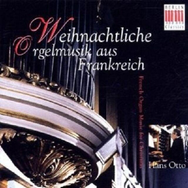 """HANS OTTO """"WEIHNACHTLICHE ORGELMUSIK A.F. """" CD NEUWARE"""