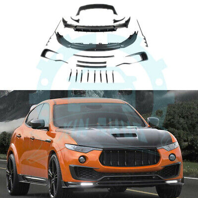 Carbon Body Kit For Maserati Levante 2016-2018 Lip Bumper Spoiler ab768