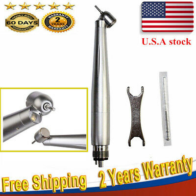 Nsk Style Dental Led Fiber Optic Handpiece 45 Surgical E-generator 4hole Usa Ce