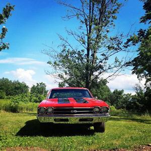1969 CHEVELLE 496 STROKER BIG BLOCK CHEVY