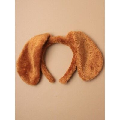BROWN DOG FLOPPY  Ears Headband Fancy Dress Costume Accessory  ()