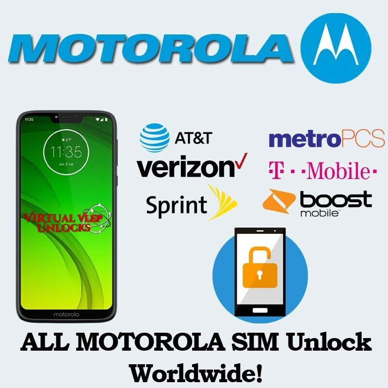Motorola Remote Unlock Service