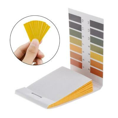 80 Pcs Test Paper 1-14ph Solution Strips Litmus Tool Kit Indicator Aquarium Pond