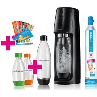 SodaStream Easy Vorteilspack schwarz inkl. 4x PET-Flaschen, 1x CO²-Zyl.