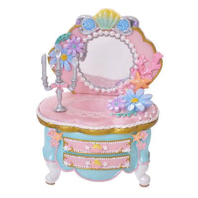 Disney Store Japan Ariel Princess Dresser Accessory Jewelry Case -