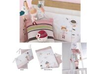 Mamas and papas scrapbook girls nursery/bedroom collection