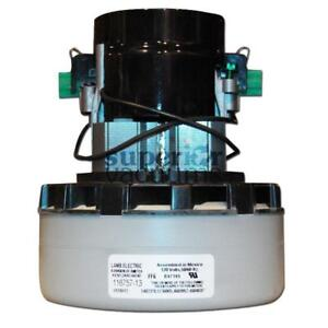 """Motor 2 Stage Bypass 5.7"""", Peripheral Discharge Dry 120 Volt Epoxy Painted Fan Case Air Sealed Bearing 7.9 Amps Acustek"""