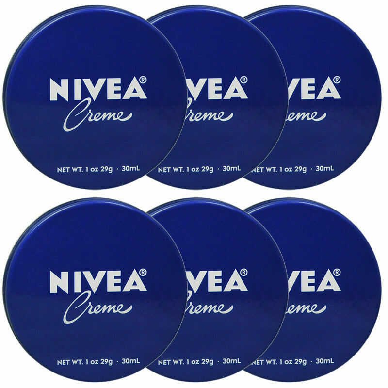 10 Nivea Creme Blue Tin *NEW* @1 oz Skin Moisturizer Purse T