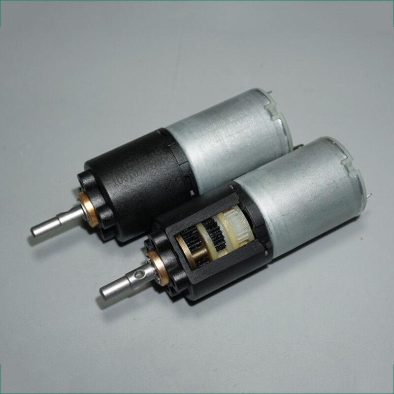 DC 6V 12V 8-16RPM Long Shaft Turbine Worm Gear Motor Gear Box Slow Reduction