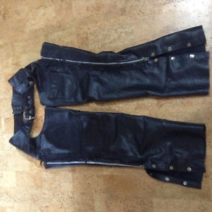 Genuine leather chaps for sale