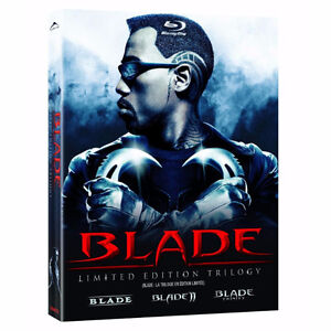 BLADE TRILOGY LIMITED EDITION BLU RAY- SEALED NEW