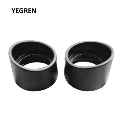 One Pair Eye Guards Stereo Microscope eyepiece Telescope 32-35mm Rubber Eye Cups