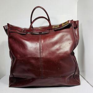 *TRÈS GRAND sac en cuir - Vintage - UNISEXE*