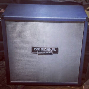 CAB MESA BOOGIE RECTIFIER 4X12 BLUE WITH EMINENCE SPEAKERS