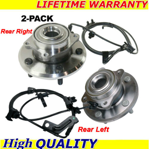 Right and Left Wheel Bearing and Hub Assembly Fits 2009-2015 Dodge Journey w/ABS