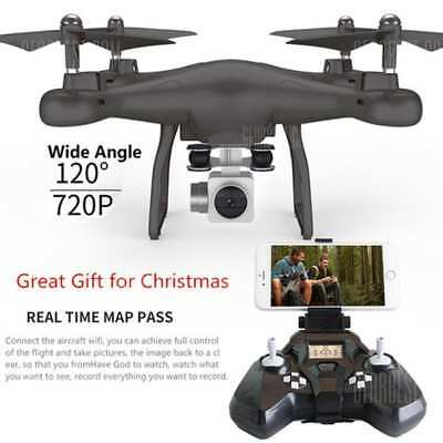 Wifi fpv Inconsiderable Control RC Drone S10 with 720P Wide Camera Headless Mode One-key