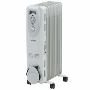 1500 watt electric oil filled radiant portable heater