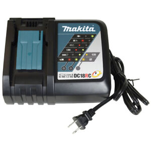 New! Makita 18V Lithium-Ion Rapid Optimum Battery Charger DC18RC