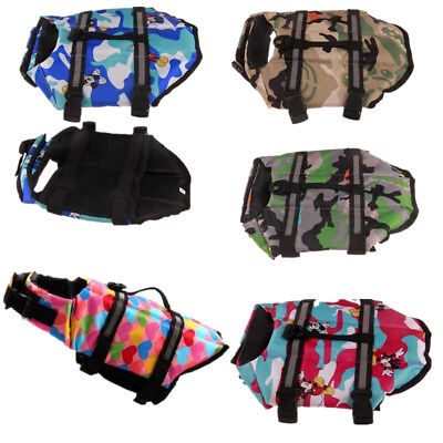 (Pet Dog Life Jacket Swimwear Puppy Safety Preserver Surf Floatation Vest Saver)