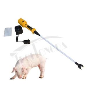 Hot-shot Shaft 36 inch Electric Livestock Prod for Pig Cattle with Battery New 154027