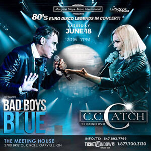 C.C Catch and Bad Boys Blue in Concert