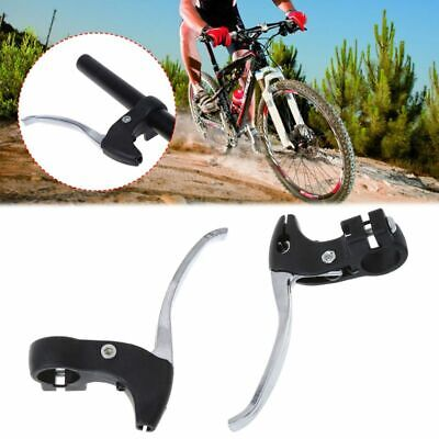 1 Pair Bicycle Brake Lever Handle Aluminum MTB Folding Bike Parts Cycling Safety