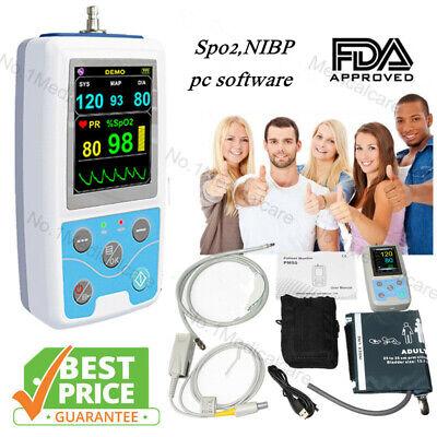 Contec Pm50 Multi-functional Patient Monitornibpspo2prusb Pc Softwarefda Ce