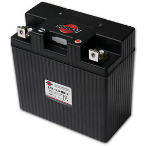 LITHIUM SHORAI BATTERY FOR MOTORCYCLES AND ATVS LFX24L3-BS12