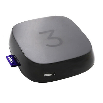 Roku 3 Streaming Digital Media Player (4230X) with Voice Search (2015 Model)