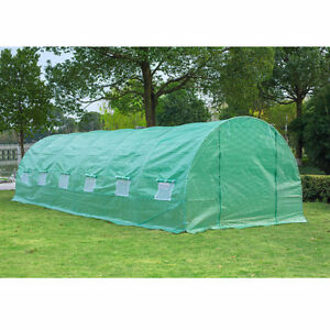 10' x 26' Greenhouse Shed Patio Garden / Greenhouse shed patio
