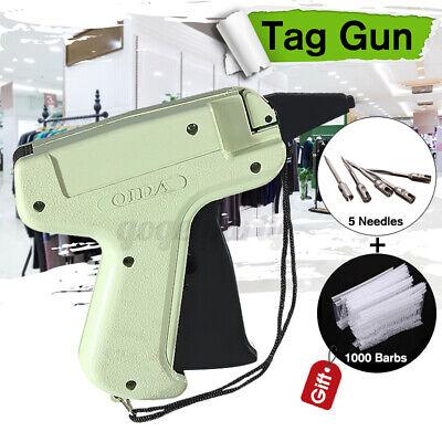 Us Clothing Garment Sock Price Label Tagging Tag Gun1000 Tag Barbs5 Needles