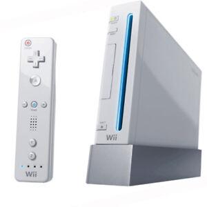 Nintendo Wii   &   7 jeux vidéos