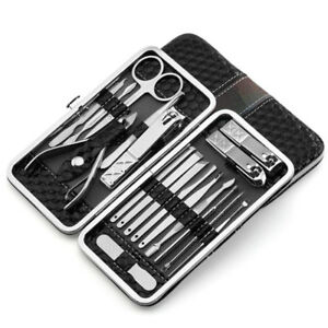 Brand New Nail Clippers Set 18pcs Stainless Steel Manicure
