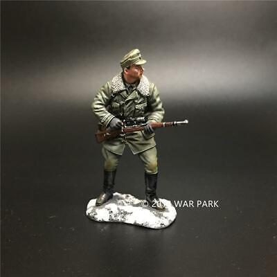 War Park WWII German Infantry Major Sniper 1/30 Figure Soldier Military SP001