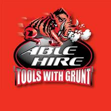 Able Hire - Tools With Grunt Kirrawee Sutherland Area Preview