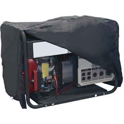 Large Portable Dustproof Rainproof Cover Black For 5000 - 8000 Watt Generator