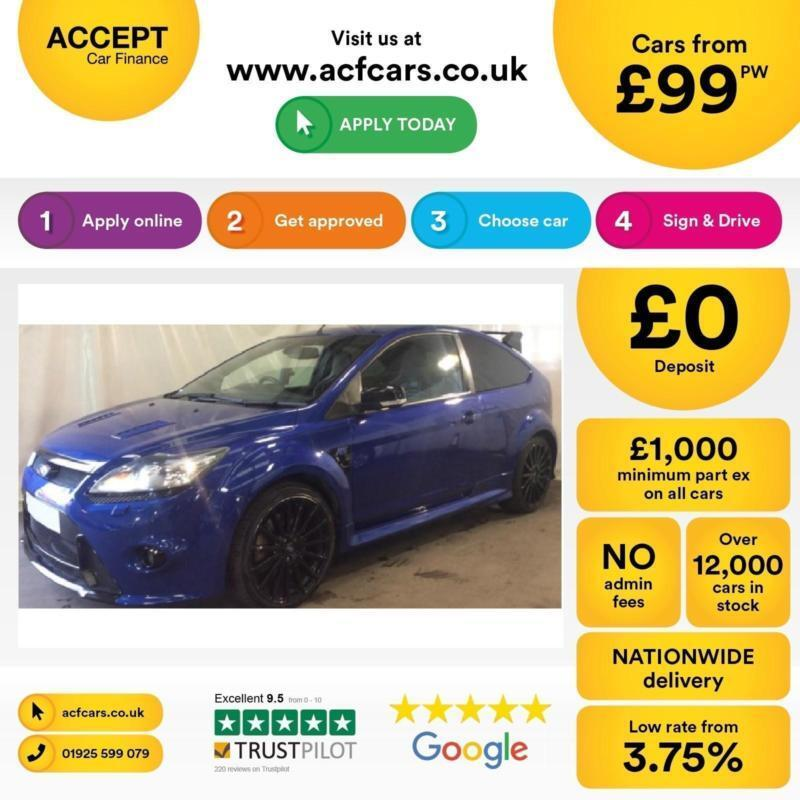 Ford Focus RS FROM £93 PER WEEK!