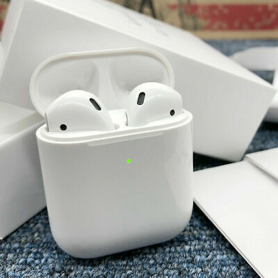NEW SEALED Apple AirPods 2nd Generation Earbuds with Wireless Charging Case Gift
