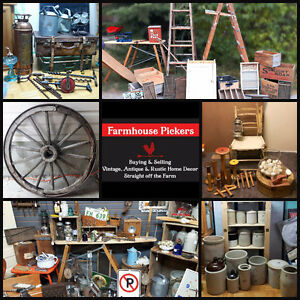 True vintage, Collectibles, Re-purposed, Reclaimed, Oil & Gas...