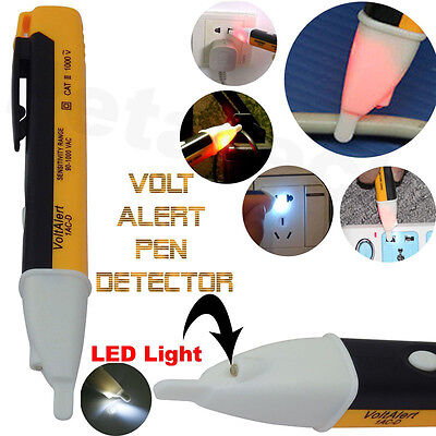 Sensor Tester Pen Ac 901000v Non-contact Electric Led Alert Voltage Detector