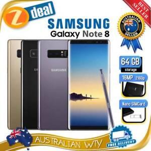 (AU STOCK) SAMSUNG GALAXY NOTE 8 SM-N950F UNLOCKED PHONE