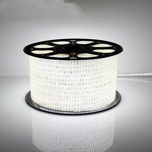 50m (164 ft) 110V led strip light waterproof deck marine dock