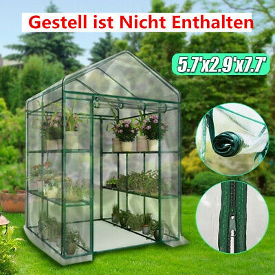 Outdoor Garden Greenhouse Shed Green House Shade Plant Storage PE Cover  ✤✤