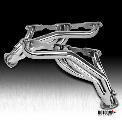 For Chevy GMC C/K 1500 2500 V8 5.0/5.7L Stainless Steel Exhaust Manifold Header