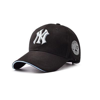 ed2c29ee15a Women Men NY Snapback Baseball Caps Casual Adjustable Sport Cap Hip Hop Sun  Hat