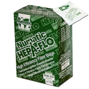 Henry Hepa Bag M1C M1B 10 Pack Rsv200 Basil James Nvh 200-1 Hepaflo Hvr200 (8 Packs Per Case) Nvm1Ch Harry Hetty Psp200A