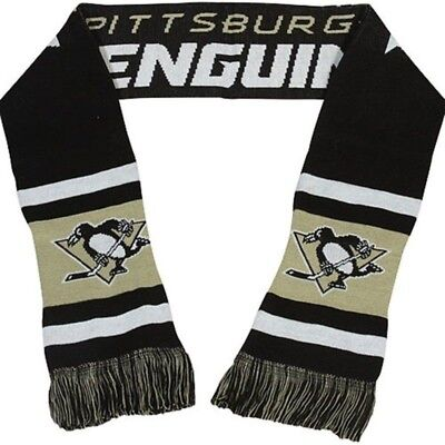 Pittsburgh Penguins NHL Acrylic Team Scarf