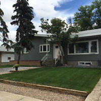 Completely renovated home two blocks from hospital