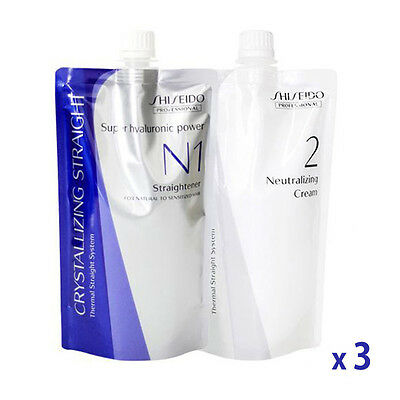 Shiseido Crystallizing Straight Fine or Tinted Hair N1+2  Lots of 3 Wholesale
