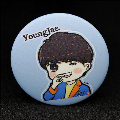 Fashion KPOP GOT7 YoungJae Q edition style Badge Brooch Chest Pin Souvenir Gift